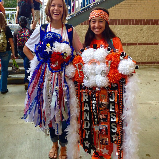 Sulali What S With These Giant Texas Homecoming Mums